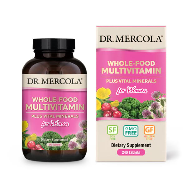 Whole-Food Multivitamin for Women