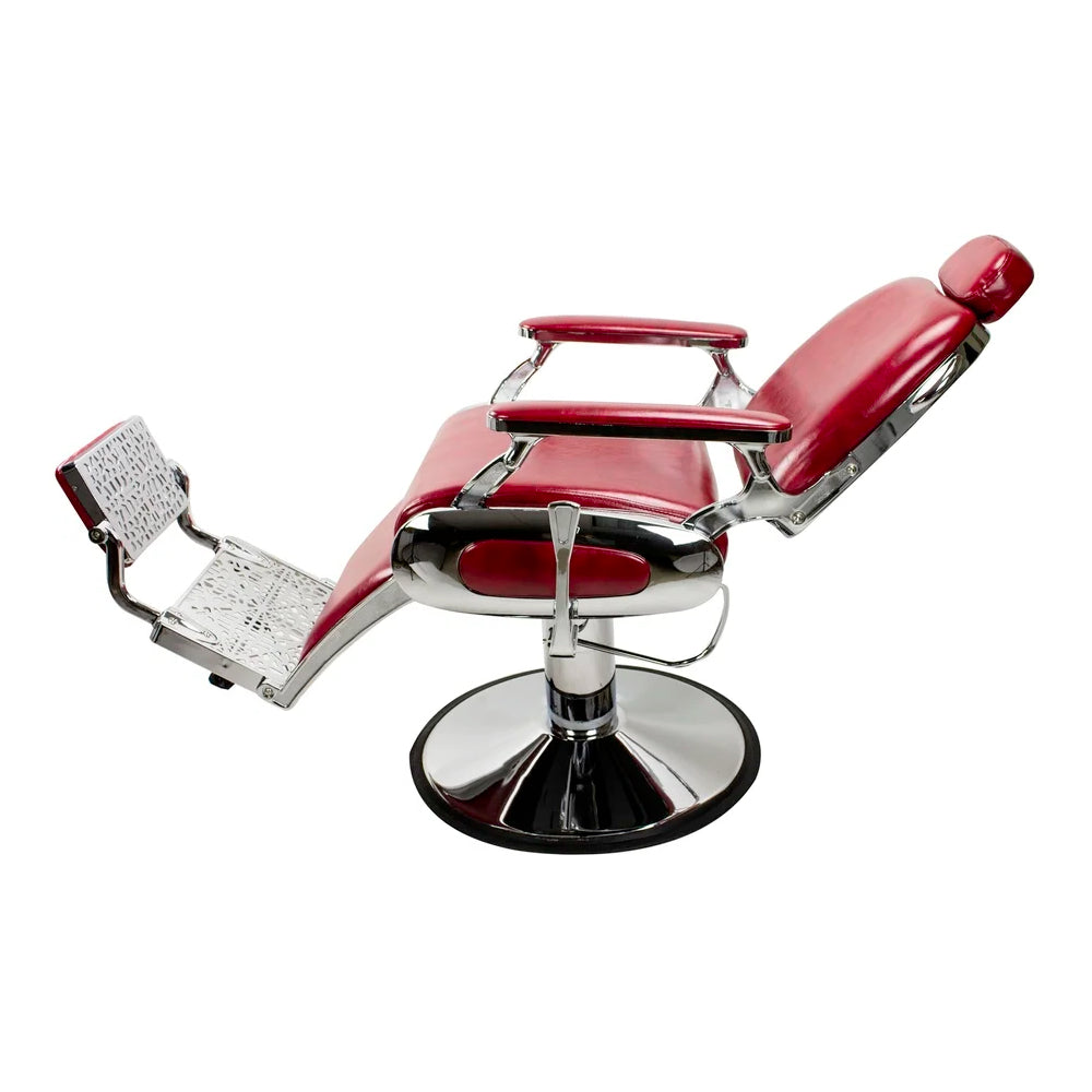 AYC Roosevelt Barber Chair Crimson Red