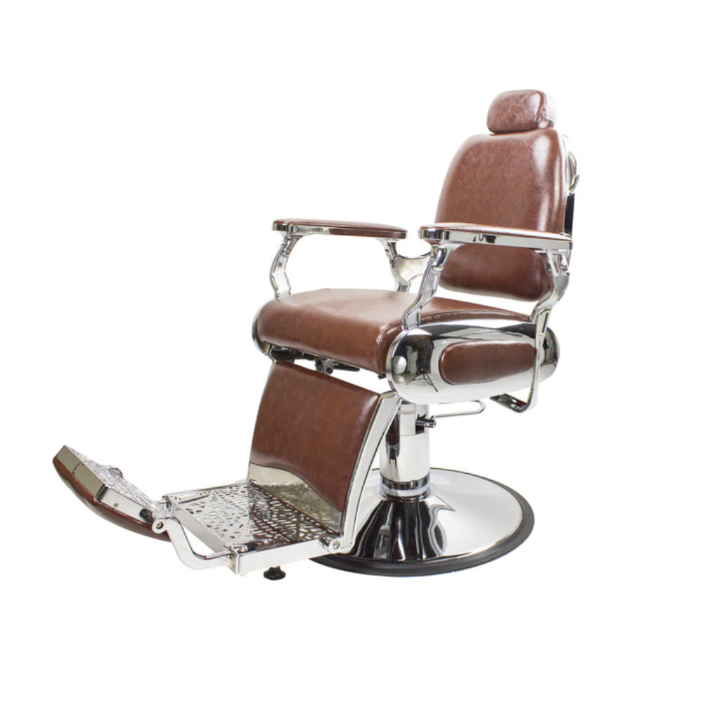 AYC Roosevelt Barber Chair Brown