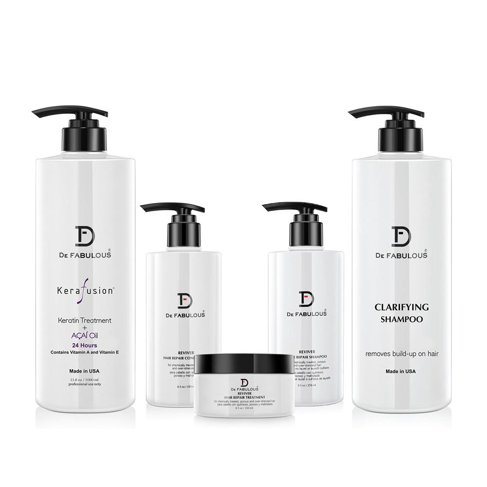 Kerafusion Keratin Treatment Set for Professionals