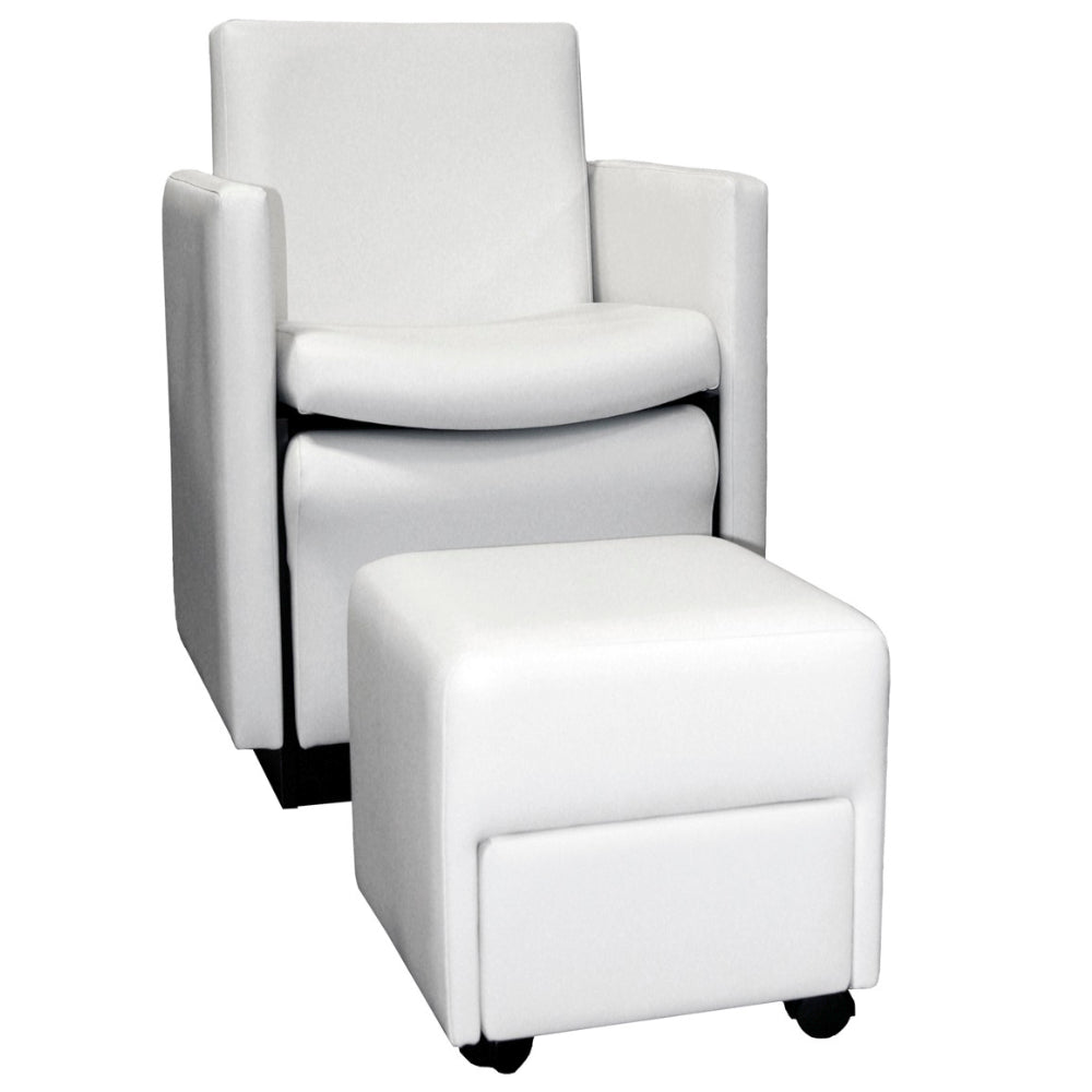 Collins Cigno Club Pedicure Chair With Footsie Bath