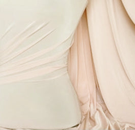 VANILLA BLUSH SILK DRAPE SWATCH