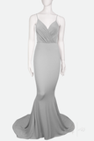 CASSIE ✶ FISHTAIL GOWN WITH TRAIN