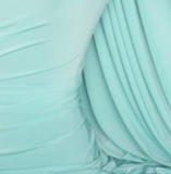 MINT BLUE SOFT LUSTRE FABRIC SWATCH