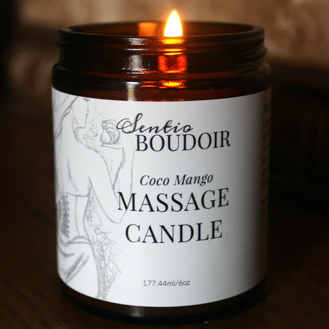 Sentio Boudoir- Massage Candle