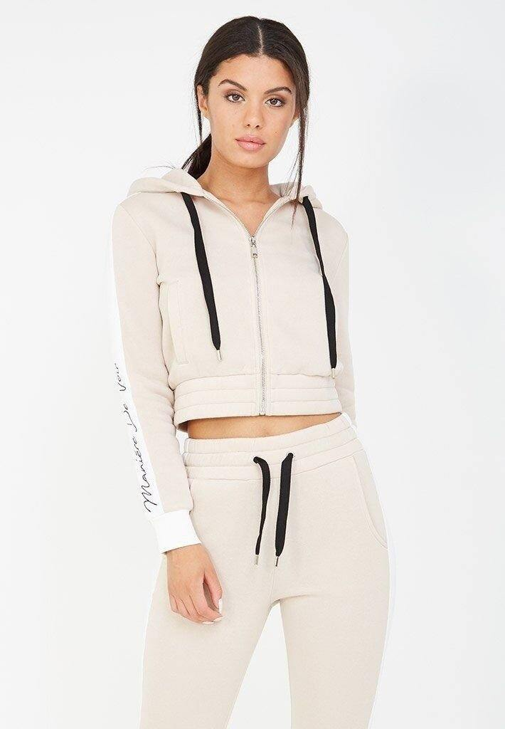 Hooded Long Sleeve Sports Suit