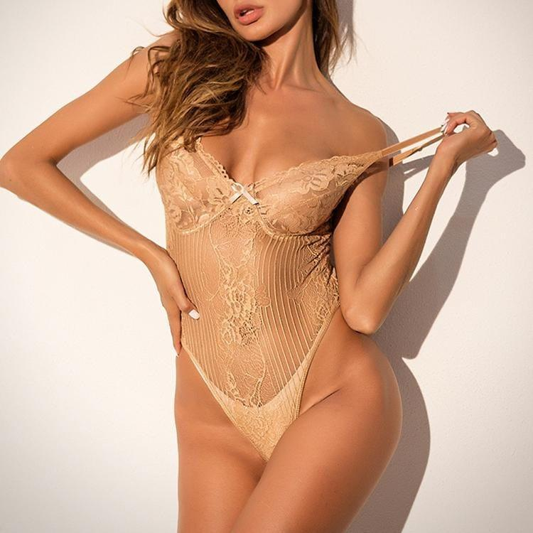 One Piece Transparent Lace Women Lingerie Sexy - the woman concept