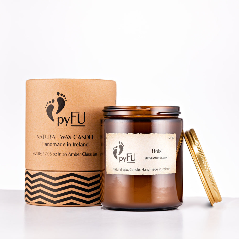 Natural Wax Candle - 07 Bois - pyFU