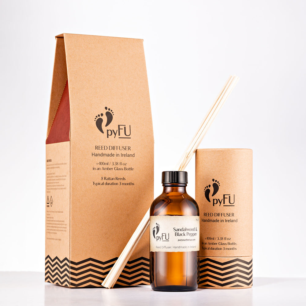 Reed Diffuser - 11 Sandalwood & Black Pepper - pyFU