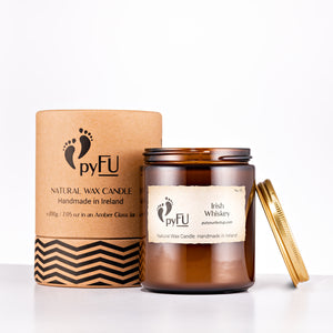 Load image into Gallery viewer, Natural Wax Candle - 01 Irish Whiskey - pyFU