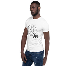 Load image into Gallery viewer, Back Azimuth Bear- Short-Sleeve Unisex T-Shirt