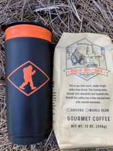 Load image into Gallery viewer, Outdoor french press shown with Bold Bigfoot Camp Coffee