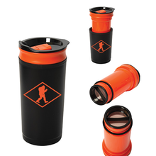 Load image into Gallery viewer,  Best French Press Portable Travel Mug for Bold Bigfoot Camp Coffee
