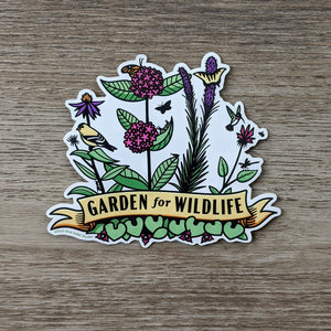 Garden for Wildlife Sticker