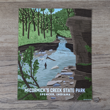 Load image into Gallery viewer, McCormick's Creek State Park Art Print