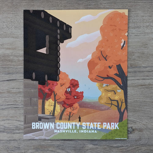 Brown County State Park Art Print