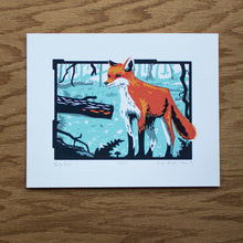 Load image into Gallery viewer, Fox Screen Print