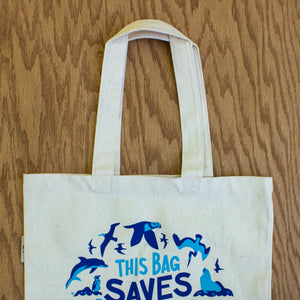 This Bag Saves Wildlife Tote Bag