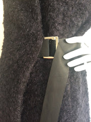 Black Fur Esme Fitte Jacket