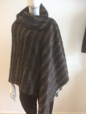 Alpaca and Wool Poncho
