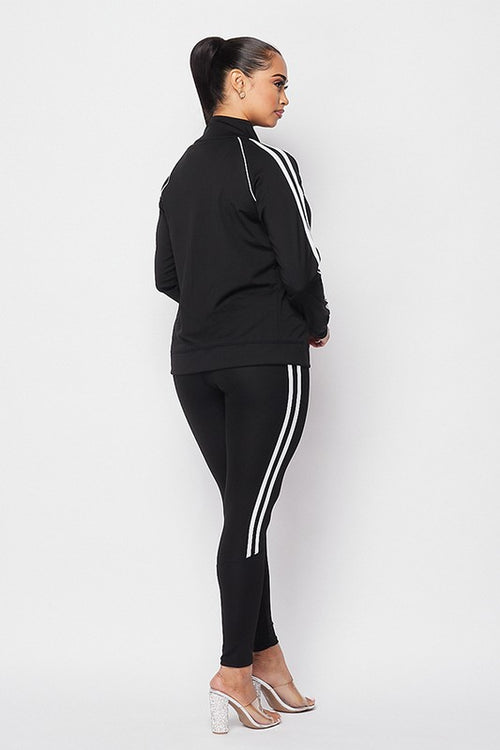 Racer Tracksuit  | Black set