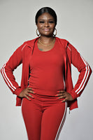 Racer Tracksuit | Red Set