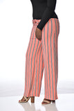 Pink Leverage | Pink Striped Trouser
