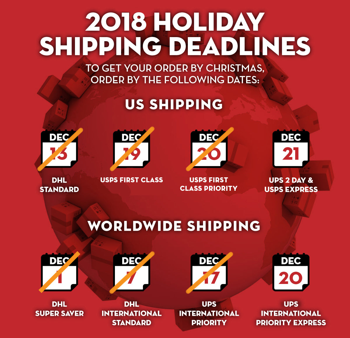 Kendama USA - Holiday Shipping - 2018 - Get it By Christmas