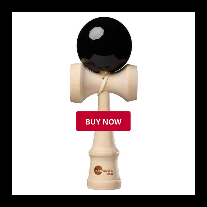 Michael Stevens - Kendama USA Black Classic Kendama