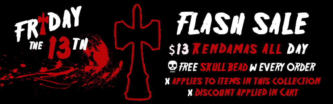 Friday the 13th Kendama Sale