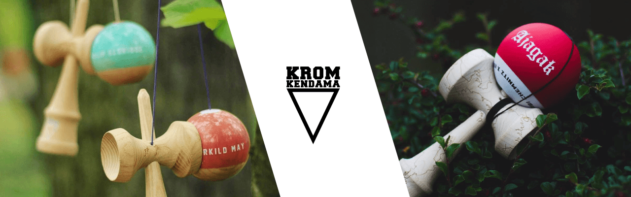 KROM Kendamas Brand Collection Banner
