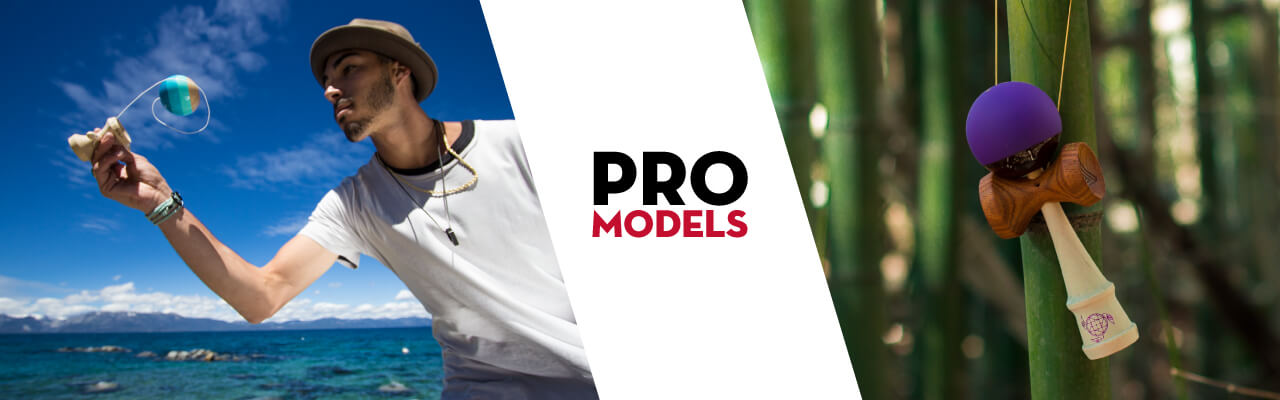 Kendama USA Pro Model Collection Banner