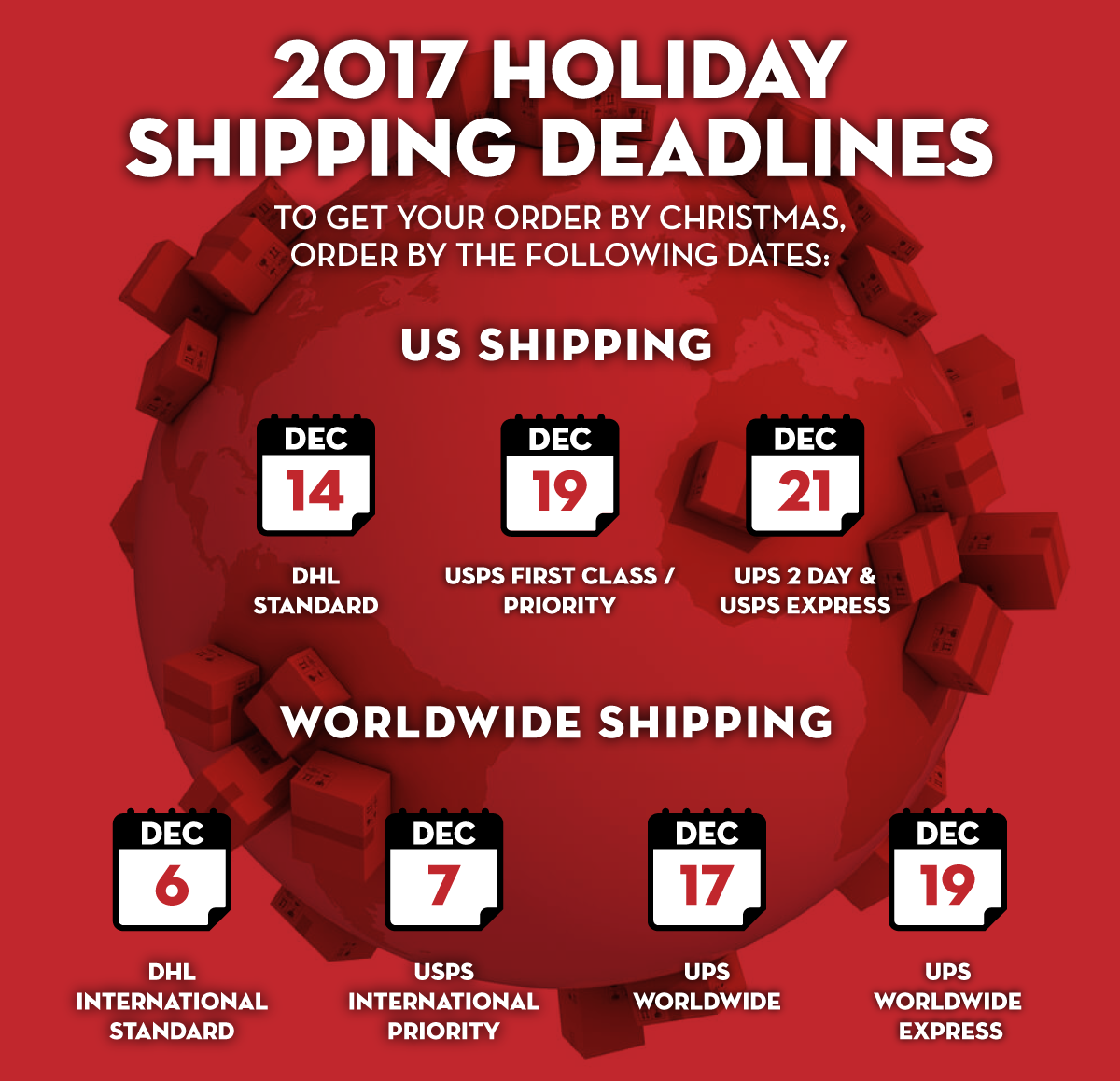 Kendama USA - Holiday Shipping - 2017 - Get it By Christmas