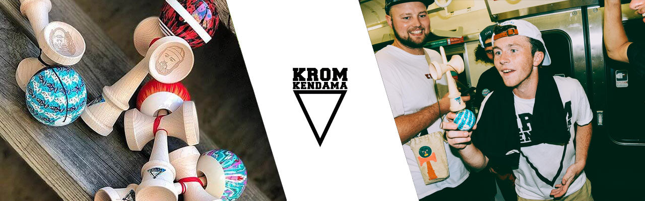KROM Kendama Collection Banner