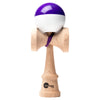 Kaizen Kendama - Half Split - Super Stick - Purple & White