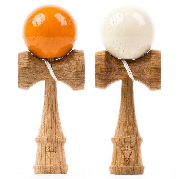 KROM Smoked Red Oak 2-Pack (Orange and Cream)