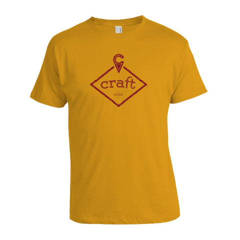 Craft Kendama T-Shirt - Gold