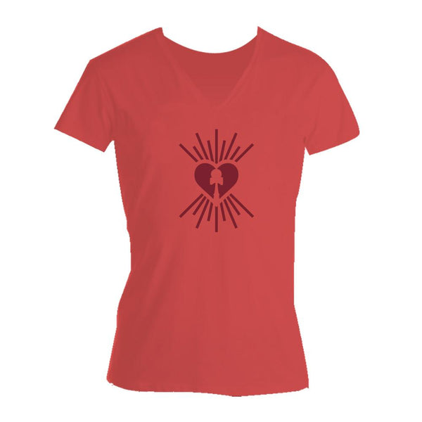Dama Heart T-Shirt (Ladies)