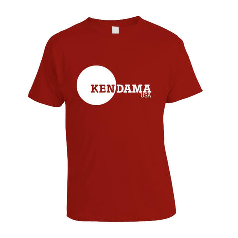 Kendama USA Logo T-Shirt - Red