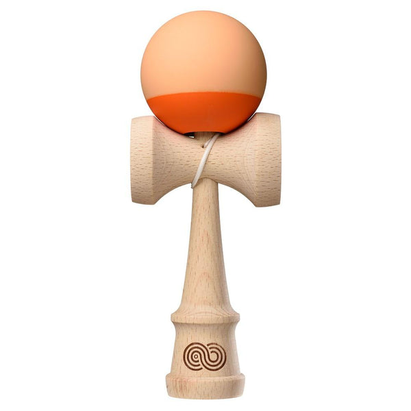 Kaizen Kendama 2.0 - 70/30 - Beech - Peach and Orange