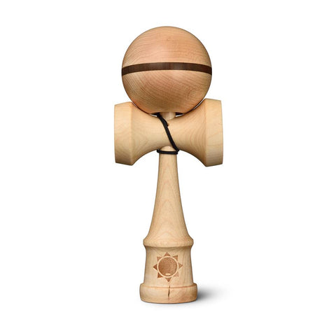 Sol Kendamas - Flow - Maple w/ Walnut stripe