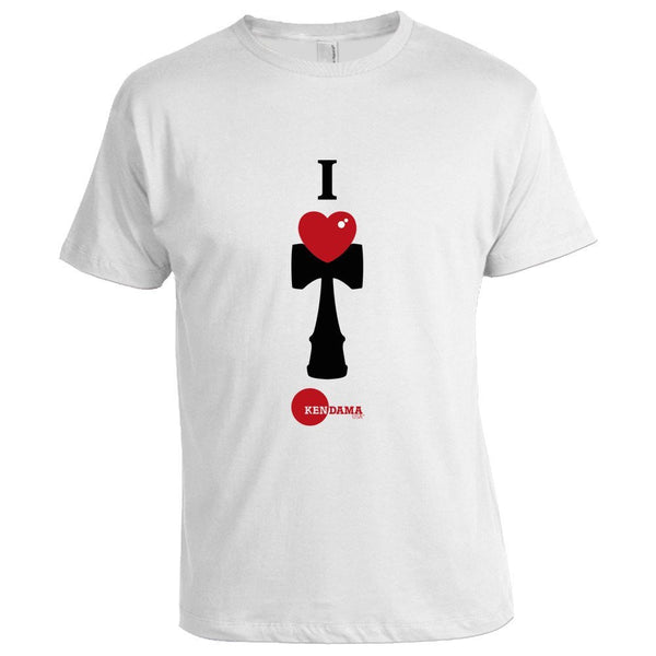 I Heart Kendama T-Shirt - White