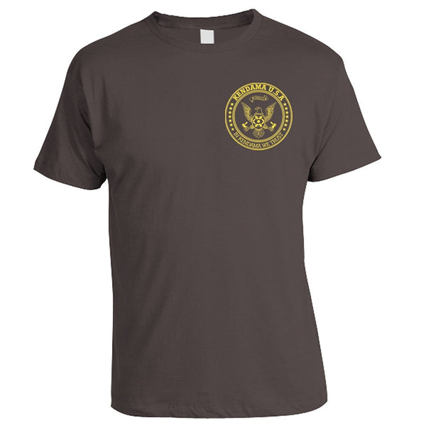 Kendama USA SEAL T-Shirt - Charcoal