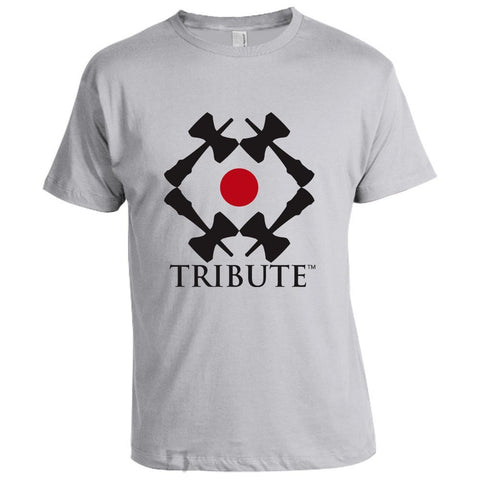 Tribute Logo T-Shirt - Grey