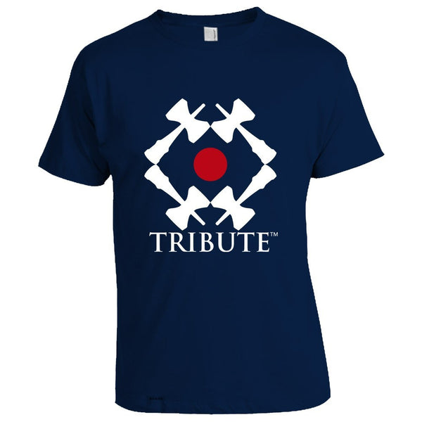 Tribute Logo T-Shirt - Navy Blue