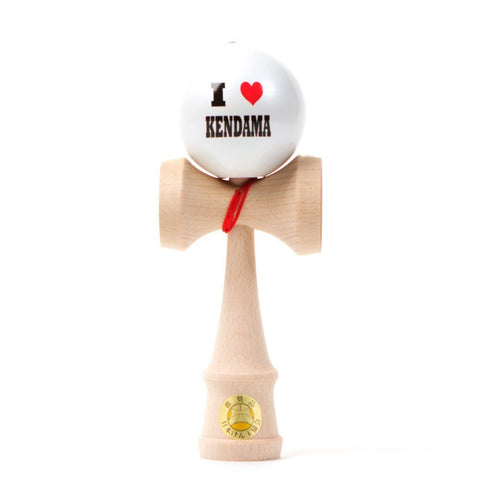 Ozora -  I Heart Kendama - White Ball