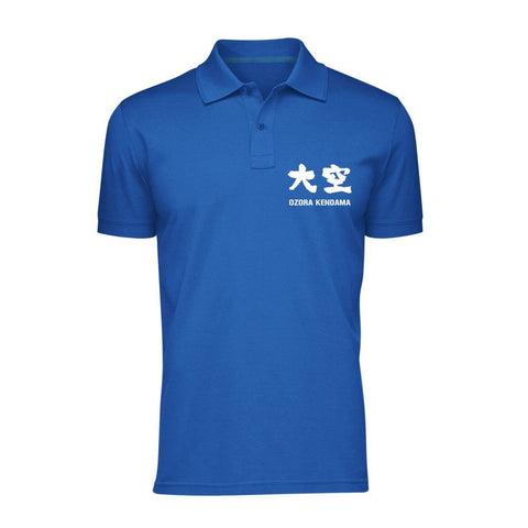 Ozora Kendama Polo Shirt - Blue
