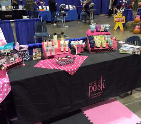 Lovely Stack Displays Vendor Event Table Display Ideas And Tips