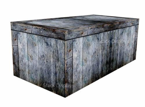 Fitted Table Cover - Barnwood Blue