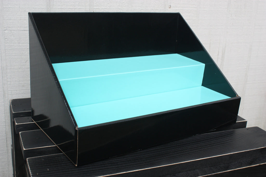 Original Stack Display | Black | Teal Insert